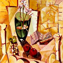Still life in yellows